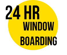 24 HOUR WINDOW BOARDING