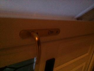 UPVC door handle repair in Cramlington