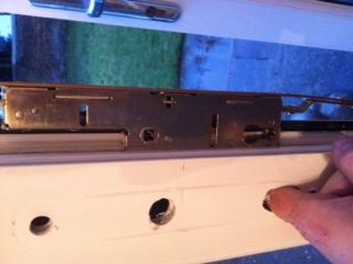 UPVC door lock repaired in Whitley bay