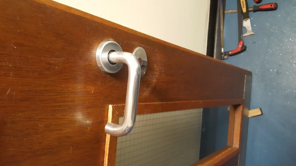 Door handles replaced in Wallsend (1)
