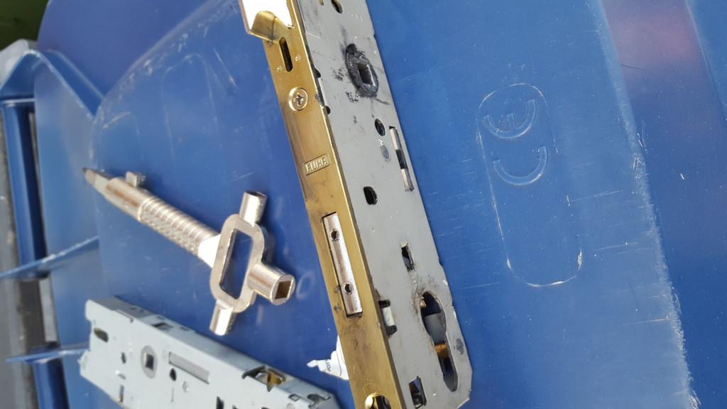 UPVC Door panel replaced in Whitley bay (2)