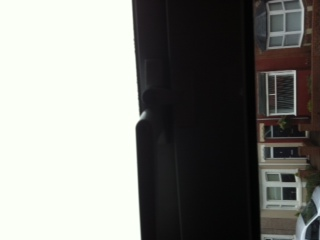 Window handle replaced in Cramlington