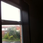 UPVC window repaired in Cramlington