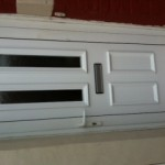 UPVC door panel repaired North shields