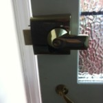 UPVC door repaired South shields