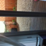 UPVC french doors glass repaired