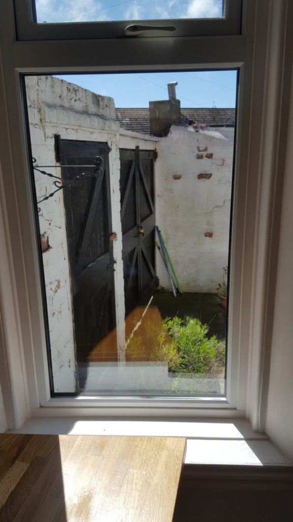 Broken window glass replaced North shields