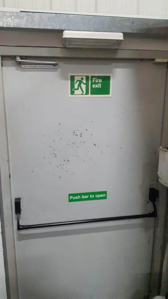 Commercial door repair in Wallsend