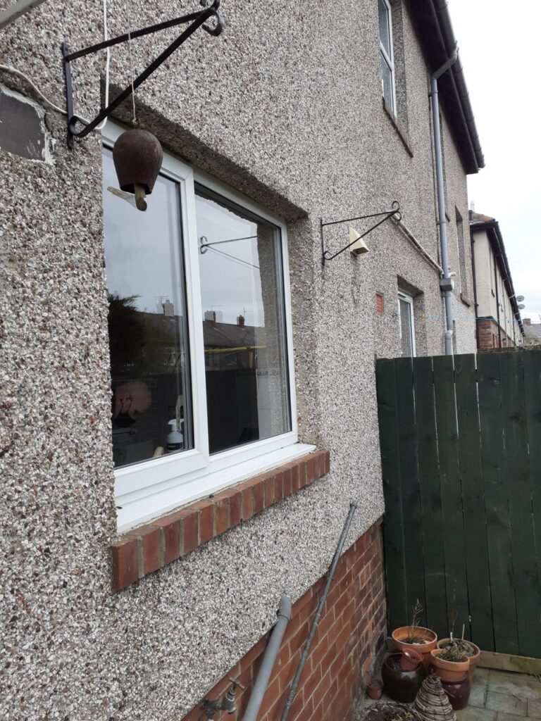 Smashed windows replaced Whitley bay